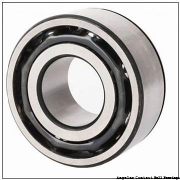 0.394 Inch | 10 Millimeter x 1.181 Inch | 30 Millimeter x 0.563 Inch | 14.3 Millimeter  GENERAL BEARING 55500  Angular Contact Ball Bearings