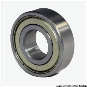 0.669 Inch | 17 Millimeter x 1.575 Inch | 40 Millimeter x 0.689 Inch | 17.5 Millimeter  EBC 5203 2RS  Angular Contact Ball Bearings